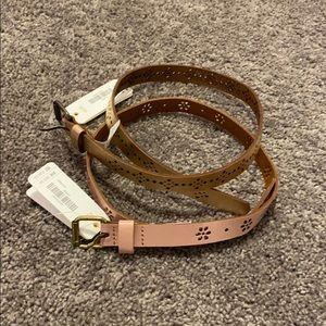 NWT Gymboree kid girl belts size XS/S (4-6yrs)